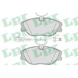 Pastillas De Freno Lpr Delantera Alfa Romeo 155 Q4 Turbo Y 2