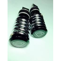 Pedaleira Traseira Aluminio Titan/ybr/fan 125/150(par)