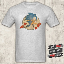 Remeras Sonic / Sega  de Hoy No Pasa 