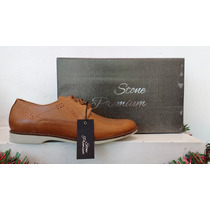 Zapato De Vestir Stone Linea Premium 100% Cuero