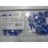 Pacote 50(pçs) Terminal Olhal 1,5-2,5mm Com Furo De 4,3mm Az