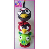 Fofuchos Angry Birds Centro De Mesa Fiesta