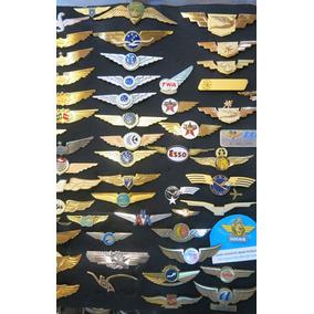 Coleção De Brevês Vasp Varig Tam Transbrasil Real