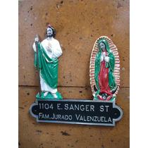 Placa Domiciliaria San Judas Y Virgen De Guadalupe