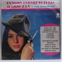 Lp Mario Zan E Seu Acordeon - Tangos Inesquecíveis - 1967 -