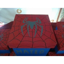 Souvenirs Caja Hombre Araña X 10u.