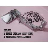 Kit Espejo Billet Empi Rectang Y Adaptador Vocho Cromado(me)