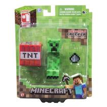 Figura Minecraft Creeper Jazwares Pronta Entrega