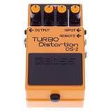 Boss Ds2 Pedal Turbo Distorsion Audiomasmusica