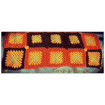 Pie De Cama Crochet