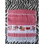 Toalha Personalizada Bico Croche 65x45cm - Foto Nome Msg