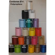 Cordon Polipropileno 4mm X 1000 Metros Colores !!