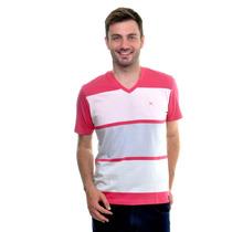 2372 - Camiseta Arrow Decote V - Tecido Algodão 100%