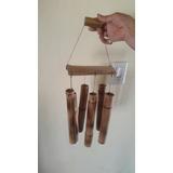 Llamador De Ángel Caña Bambú