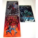 Superman Vs Alien Coleção Encadernada 3 Ed. Hq Dc Dark Horse