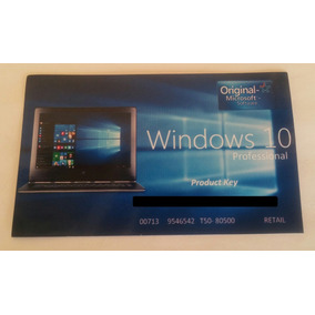 Windows 10 Pro Chave Licença Original Key Garantia Vitalícia