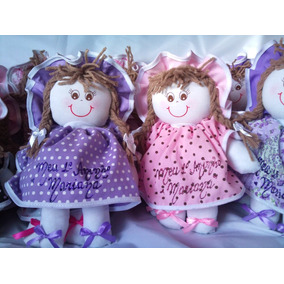 Boneca De Pano ( 25cm ) Decoração, Bebê, Menina, Festa