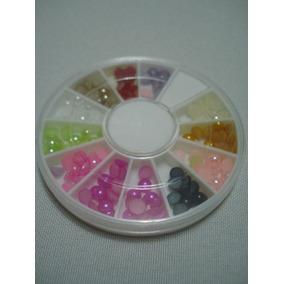 Pedras Para Unha Decorativas Nail Art Pedrinha Brilho
