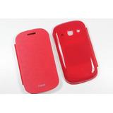 Flip Case + Pelicula Top Premium Galaxy Fame S6810 / S6812!!