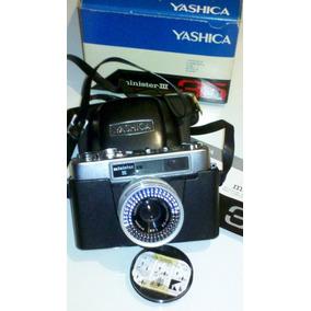 Maquina De Fotos Yashica Japonesa Con Flash