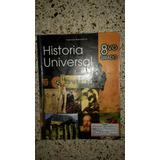 Historia Universal 8vo Grado Editorial Salesiana