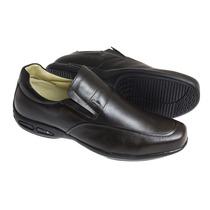 Sapato Social Sândalo Plume Walk Brown