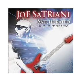 Cd Joe Satriani - Satchurated - Live In Montreal - Duplo
