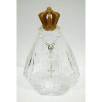 10 Nossa Senhora Aparecida Vidro Água Benta + Tercinho