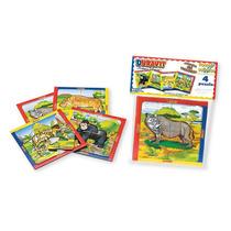 Puzzle Rompecabezas X4 Unidades 4 Piezas Infantil Duravit