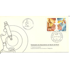 Fdc-247 1982 Bacilo De Koch Carimbo Cbc+1ºdia Rio-rj