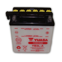 Bateria Moto Yuasa Yb3l-a Xl 200 250r Dt 180 Vespa Px 200