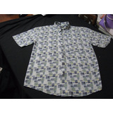 Camisa Guayabera Hawaiana Exclusiva John Henry Talla S
