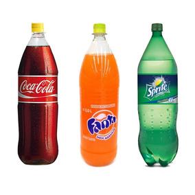 Coca Cola, Fanta, Sprite Retornable 2000cc