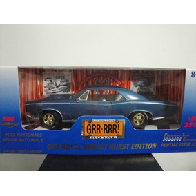 Mini Pontiac Gto Royal Bobcat Hurst 1966 Ertl Pye 1:18 Raro