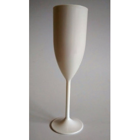 100 Taças De Champagne Acrílica Lisas Formaturas Casamentos