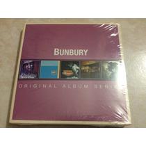 Bunbury Original Album Series Boxset 5cds Nuevo Importado Eu