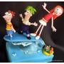 Phineas Y Ferb Adorno Para Torta - Narartesana