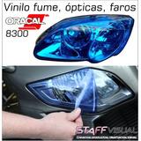 Vinilo Fume Oracal Opticas Faros Autos/motos 1x63cm. Ploteos