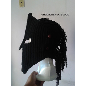 Gorro Tipo Espartano Tejido Crochet