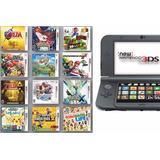 Nintendo New 3ds Xl Galaxy + Pokemon + Zelda + Super Smash