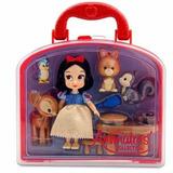 Boneca Princesa Animators Branca De Neve Playset Disneystore