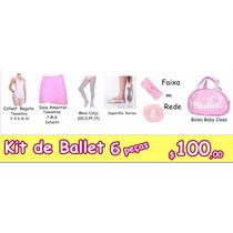 Kit Roupas De Ballet Infantil - 6 Peças