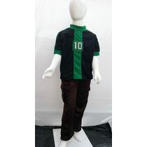 Disfraz Tipo Ben 10 Playera Y Pantalon Omniverse Ben 10