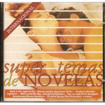 Cd Super Temas - Super Temas De Novelas - Novo***