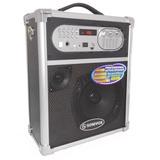 Cabina Sonivox 1455 Portatil 400 Watt Bluetooh Fm Microfono