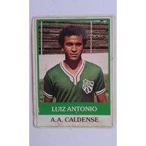 Ping Pong Futebol Cards Luiz Antônio Caldense Nº 494
