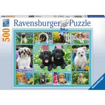 Rompecabezas Ravensburger 500 Pzs Simpáticos Cachorros 14708