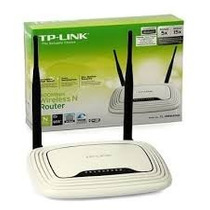 Roteador Wireless Sem Fio Tp-link Tl-wr841n 300mbps 2antena
