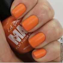 Esmalte Importado Hipoalergênico Fosco La Girl Matte Orange