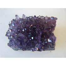 Brasil Pedras , Linda Drusa De Ametista Peso 133gr Tam 6/5cm